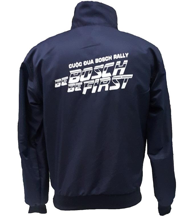 Áo khoác đồng phục chương trình đua xe Bosch Rally - mặt sau