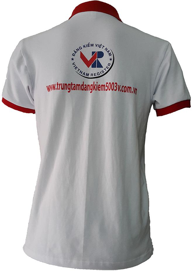 Đồng phục công sở Đăng Kiểm Việt Nam - mẫu 1 mặt sau