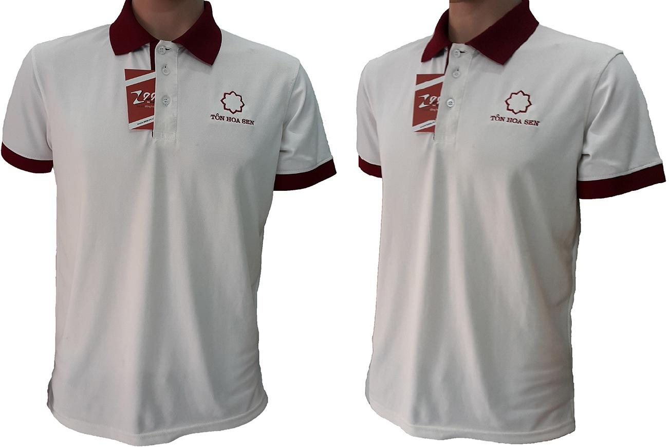 Áo thun đồng phục của Tôn Hoa Sen