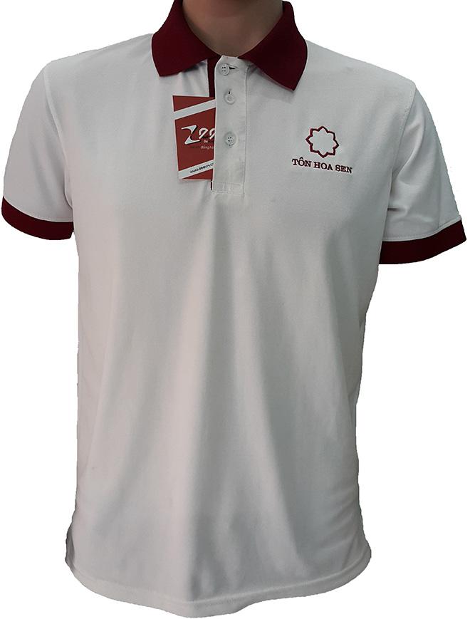 Áo thun đồng phục của Tôn Hoa Sen - mặt trước