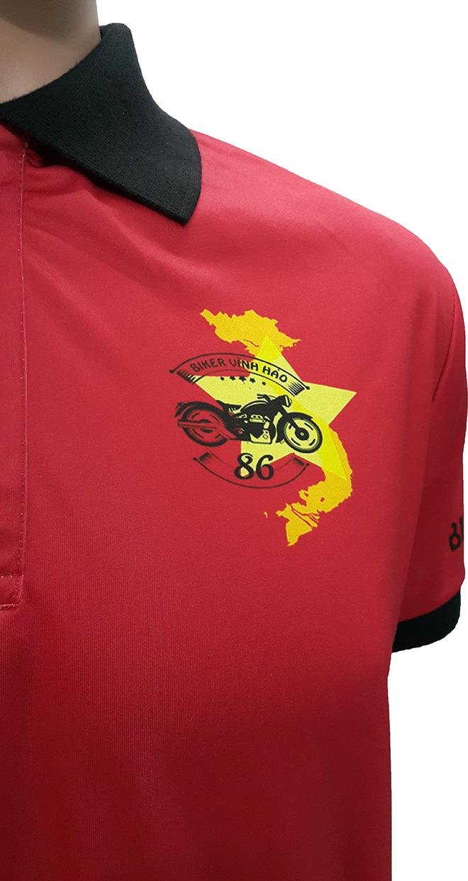 Áo nhóm phượt Biker Vĩnh Hảo - hình 2