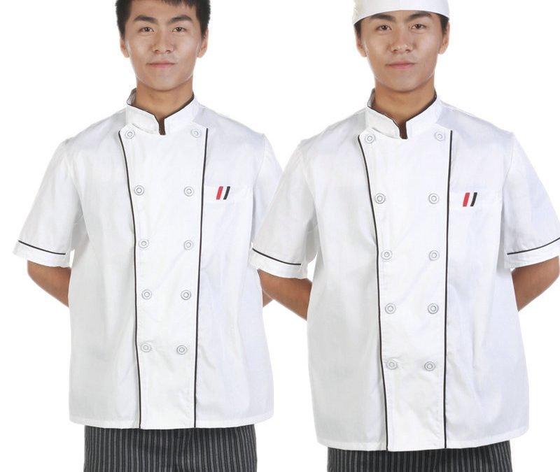 May đồng phục bếp