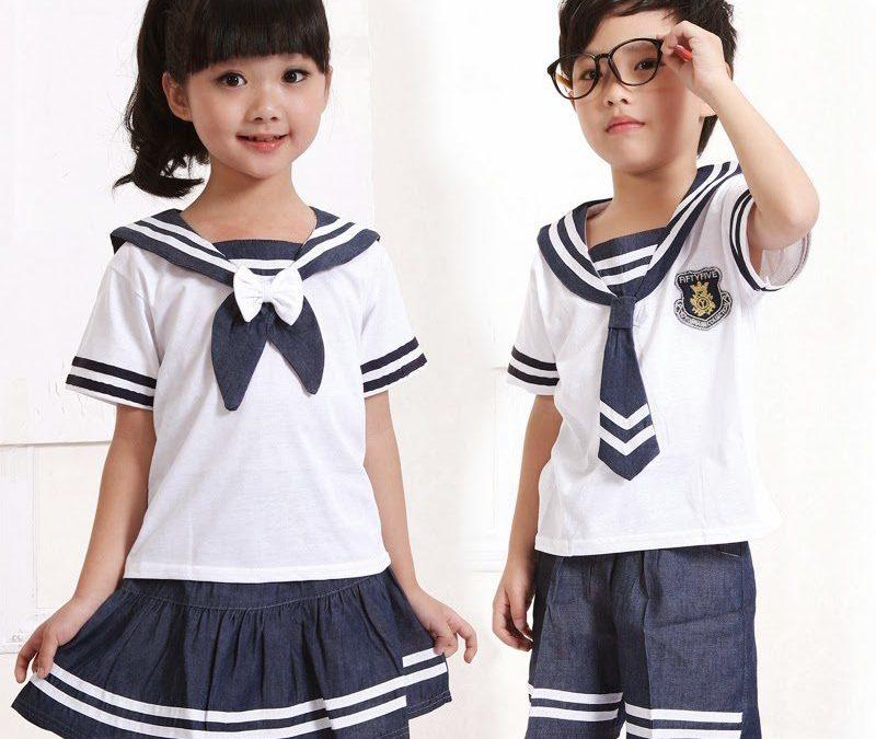 áo đồng phục học sinh