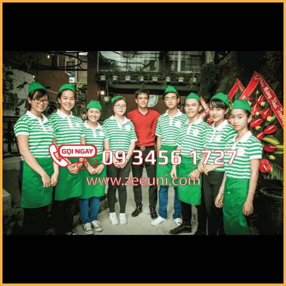 Mẫu Tạp Dề Ngắn - Đồng Phục Quán Cafe
