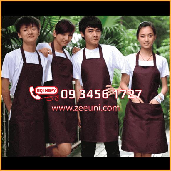 Tạp Dề Yếm - Quán Cafe