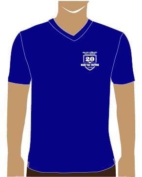Mẫu thiết kế áo thun cho sự kiện 20 năm