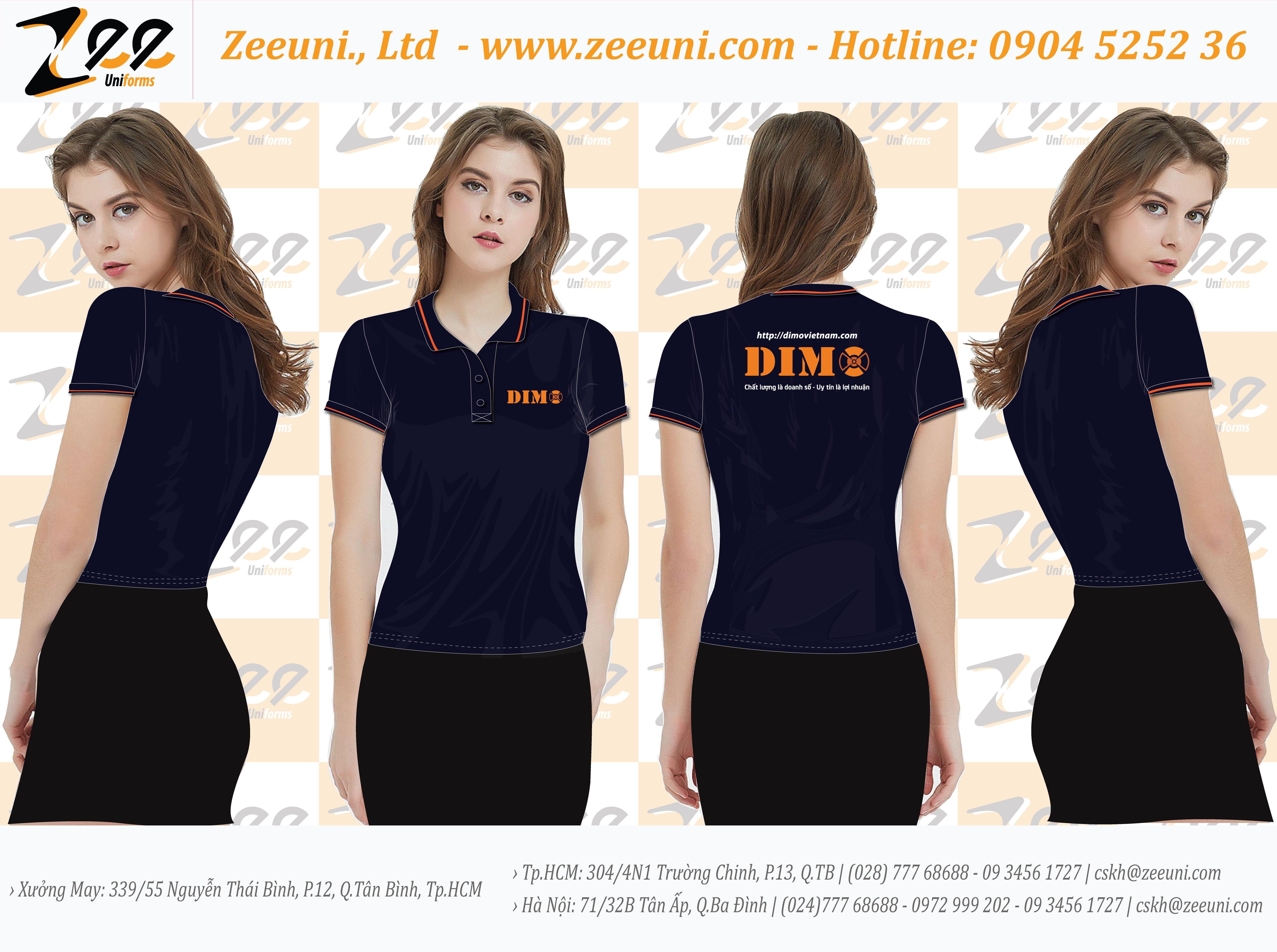 Áo Thun đồng phục Dimo