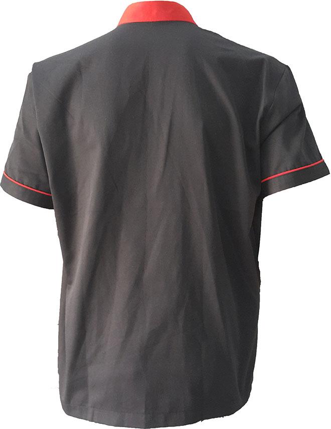 Phía mặt sau của áo đồng phục Vị Biển.