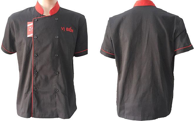 Mẫu áo đồng phục bếp của quán ăn Vị Biển