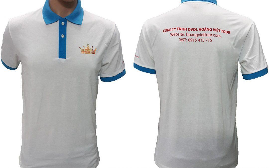 Áo thun đồng phục của Hoàng Việt Tour