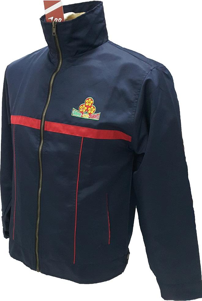 Áo khoác đồng phục của Vissan - mặt nghiêng