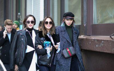 Áo khoác lông phủ sóng trên các đưởng phố New York