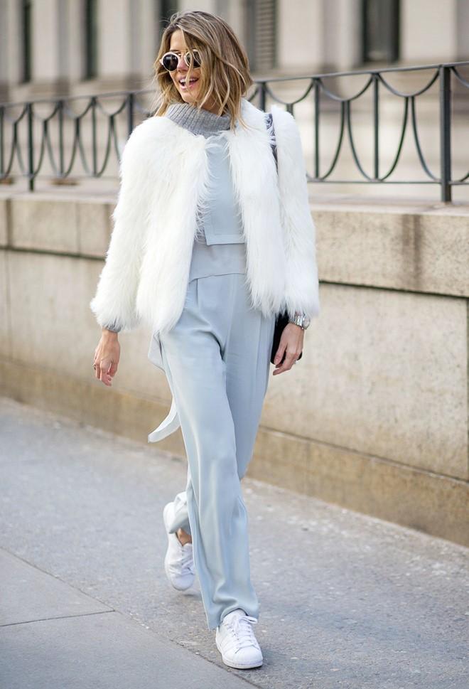 Áo khoác lông phủ sóng trên các đưởng phố New York - Hình 10