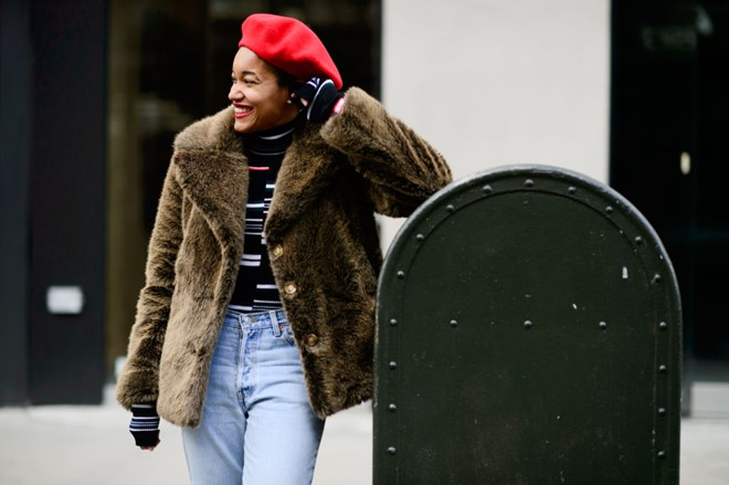 Áo khoác lông phủ sóng trên các đưởng phố New York - Hình 3