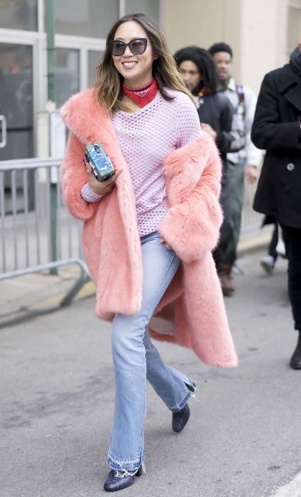 Áo khoác lông phủ sóng trên các đưởng phố New York - Hình 6