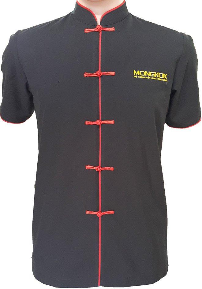 Mẫu áo đồng phục bếp dành cho nam của Mong Kok.