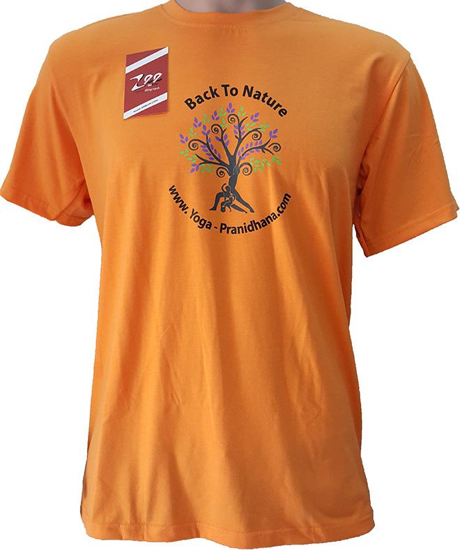 Áo thun đồng phục của Yoga-Pranidhaha.com - mặt trước