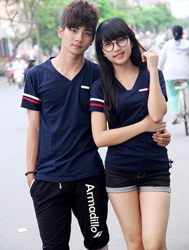 Áo thun cặp đôi mùa xuân - hình 11 - zeeuni.com