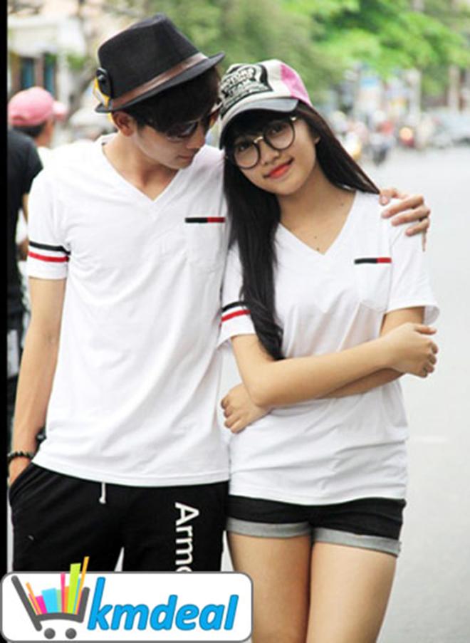Áo thun cặp đôi mùa xuân - hình 12 - zeeuni.com