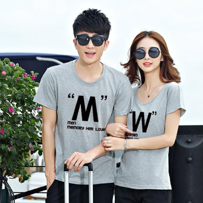 Áo thun cặp đôi mùa xuân - hình 3 - zeeuni.com