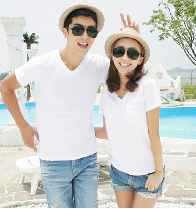 Áo thun cặp đôi mùa xuân - hình 10 - zeeuni.com