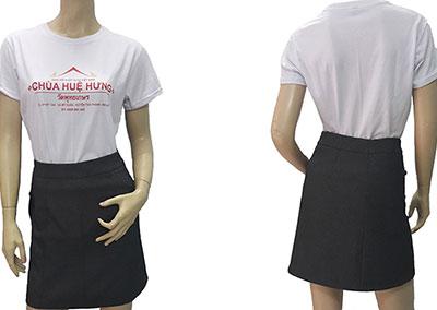 Áo thun quà tặng của chùa Huệ Hưng