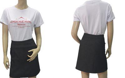 Đồng phục áo thun chùa Huệ Hưng - zeeuni.com
