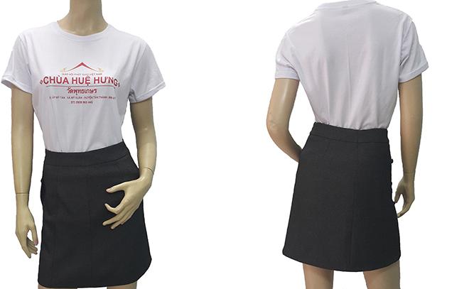 Đồng phục áo thun chùa Huệ Hưng – Áo thun quà tặng