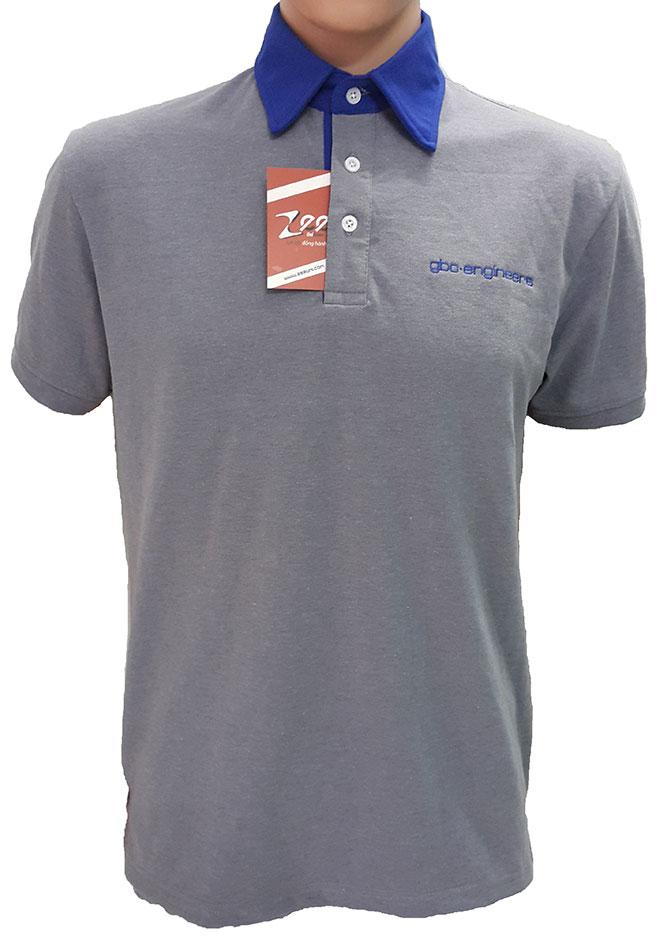 Mặt trước của áo đồng phục công ty gbo-engineers.