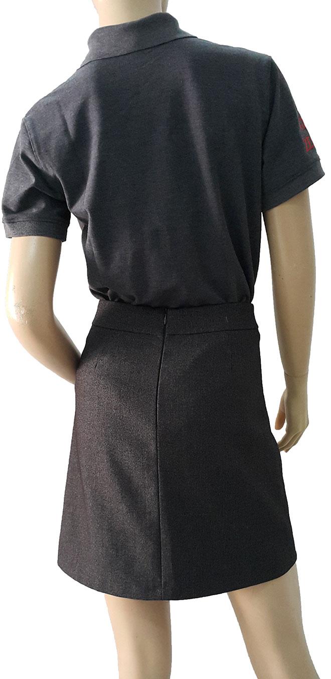 Hình ảnh phía sau lưng của áo thun Đại Hàn Vina.