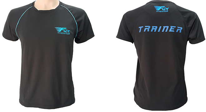 Đồng phục áo thun của câu lạc bộ VFox Fitness Club