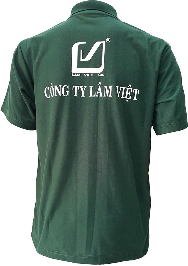 Áo thun đồng phục của Lâm Việt Co - mặt sau