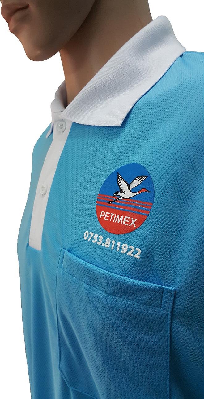 Áo thun đồng phục công ty dầu khí PETIMEX - zeeuni.com - hình 3