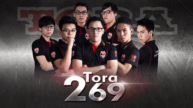 Áo thun đồng phục thi đấu của Tora 269