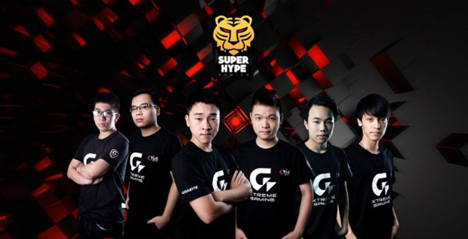 Áo thu đồng phục thi đấu GIGABYTE SuperHype