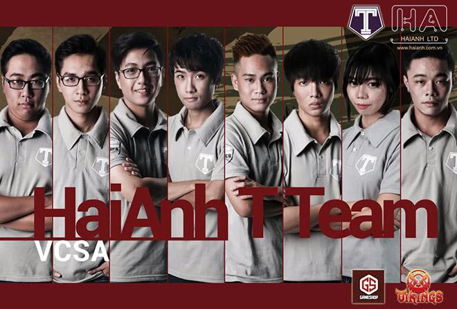 Ao thun đồng phục thi đấu HaiAnh T Team