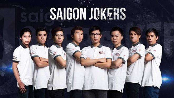 Áo thun đồng phục thi đấu của Saigon Jokers