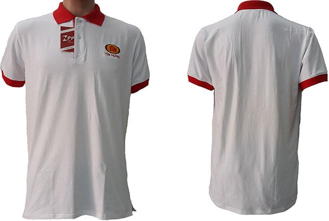 Áo thun đồng phục của công ty tín Hưng