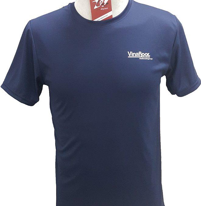 Đồng phục công sở của Vinafloor thun lạnh màu xanh đen