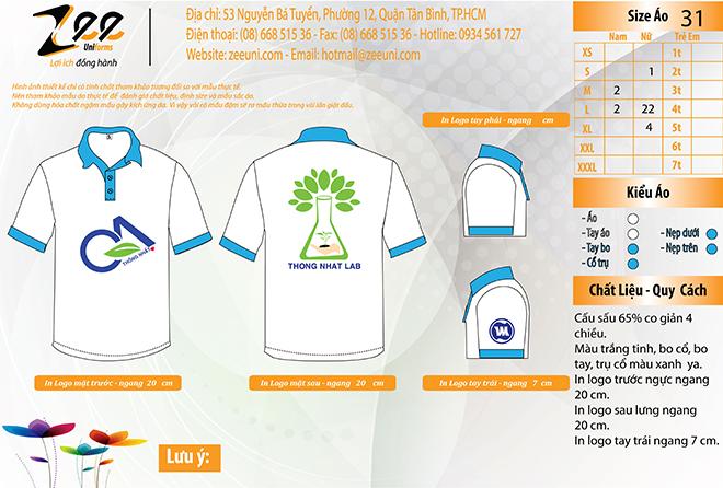 Market thiết kế áo thun đồng phục theo yêu cầu của khách hàng.