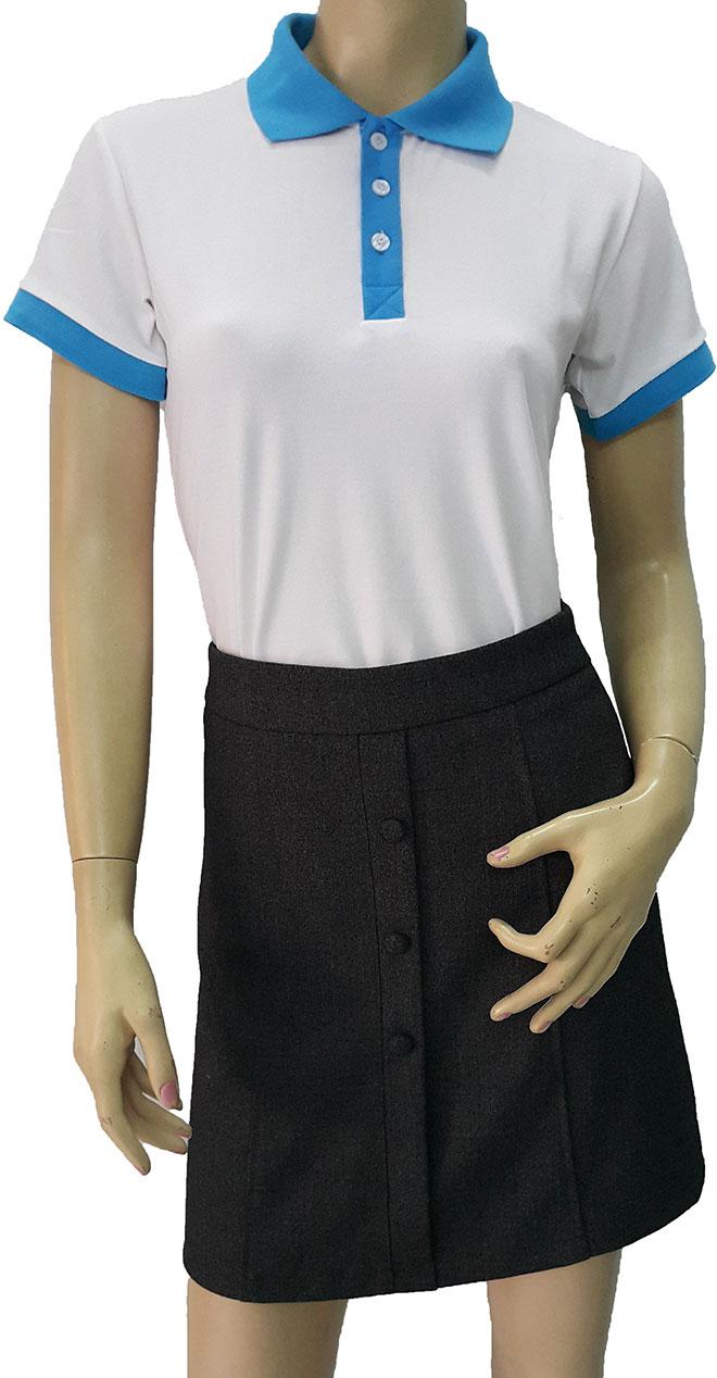 Hình ảnh áo thun đồng phục WellGen do Zeeuni thiết kế vvà may theo yêu cầu của khách hàng.
