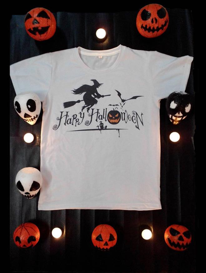 May áo thun Halloween theo yêu cầu, giá sỉ tại TP.HCM