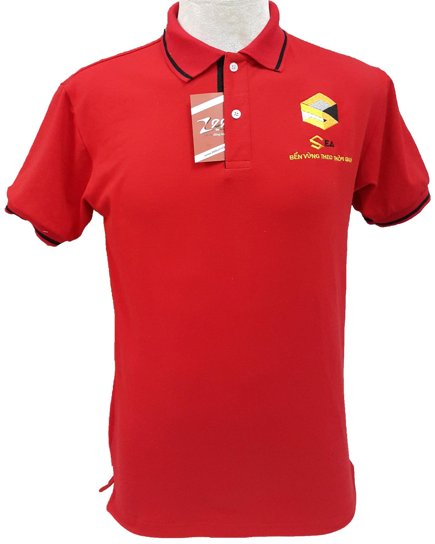 Mẫu áo thun đồng phục công sở của Sea - mặt trước