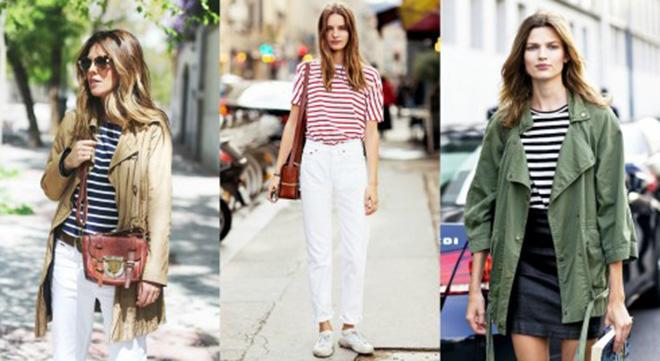 Đơn giản, dễ phối và cá tính là những gì có thể nói về thời trang áo thun.