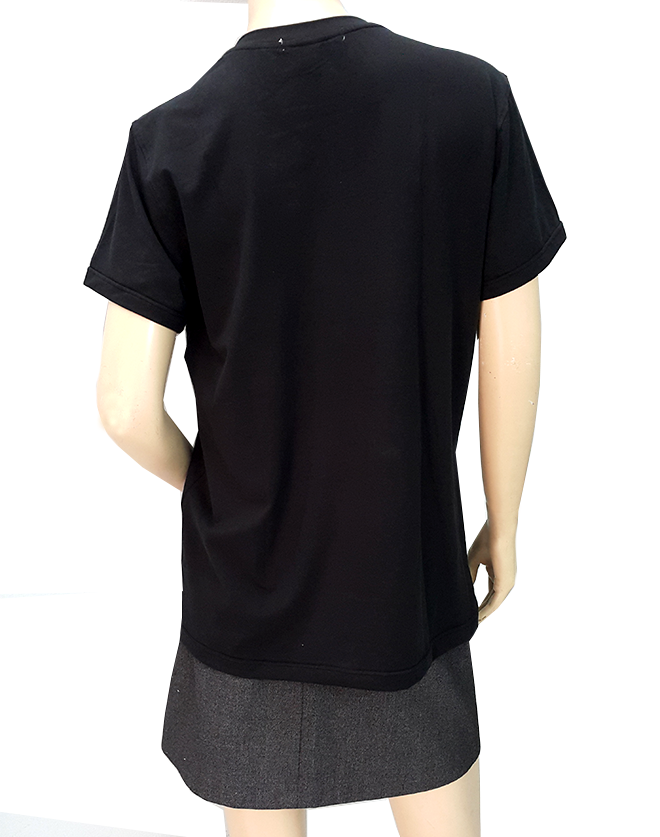 áo thun dáng dài Fork Me - hình 5 -zeeuni.com/ao-gia-dinh