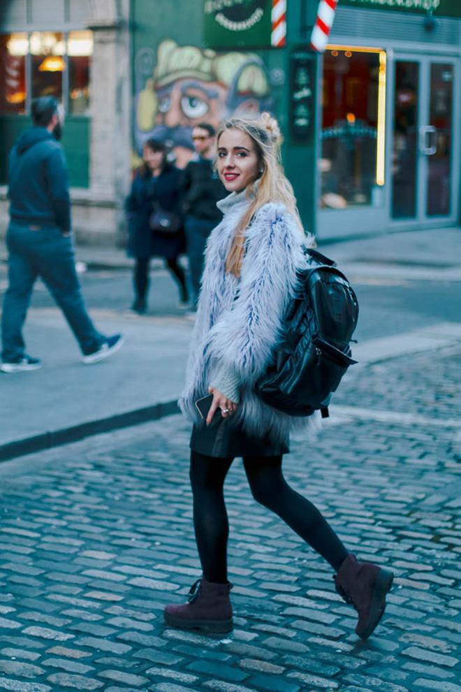 Cách phối áo khoác vừa đẹp vừa ấm áp của giới trẻ trên thế giới - hình 11 - zeeuni.com