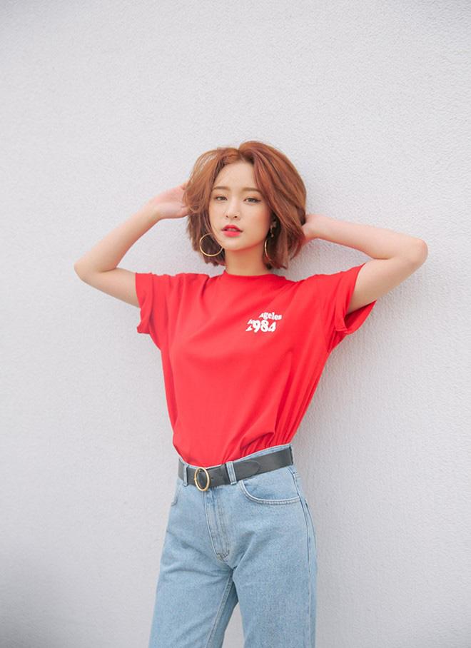 Cách phối áo thun trẻ trung năng động - hình 6 -zeeuni.com