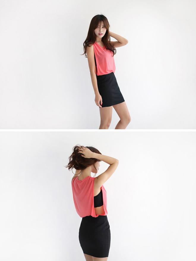 Công thức mặc áo thun tank-top đẹp theo dáng người cho các bạn nữ - hình 9 - zeeuni.com
