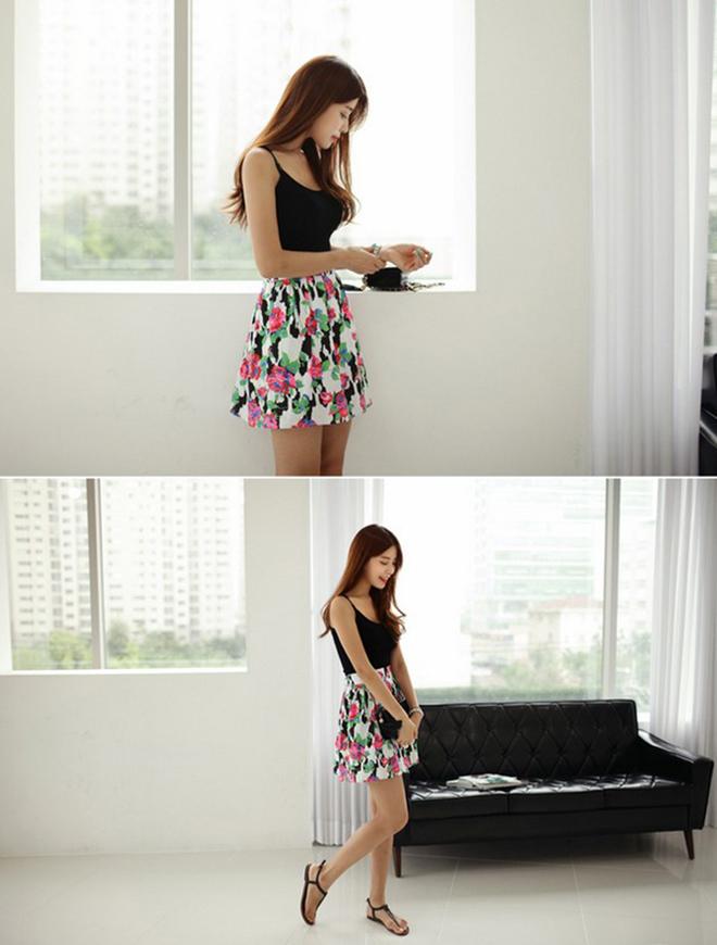 Công thức mặc áo thun tank-top đẹp theo dáng người cho các bạn nữ - hình 20 - zeeuni.com