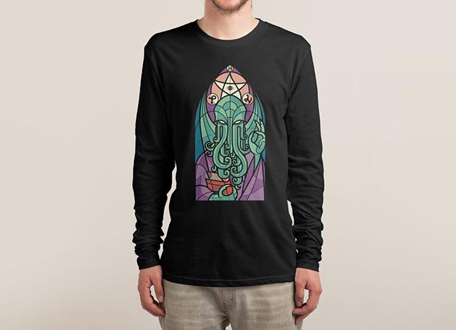 10 mẫu thiết kế áo thun đẹp nhất của Threadless - Cthulhus Church - Hình 5